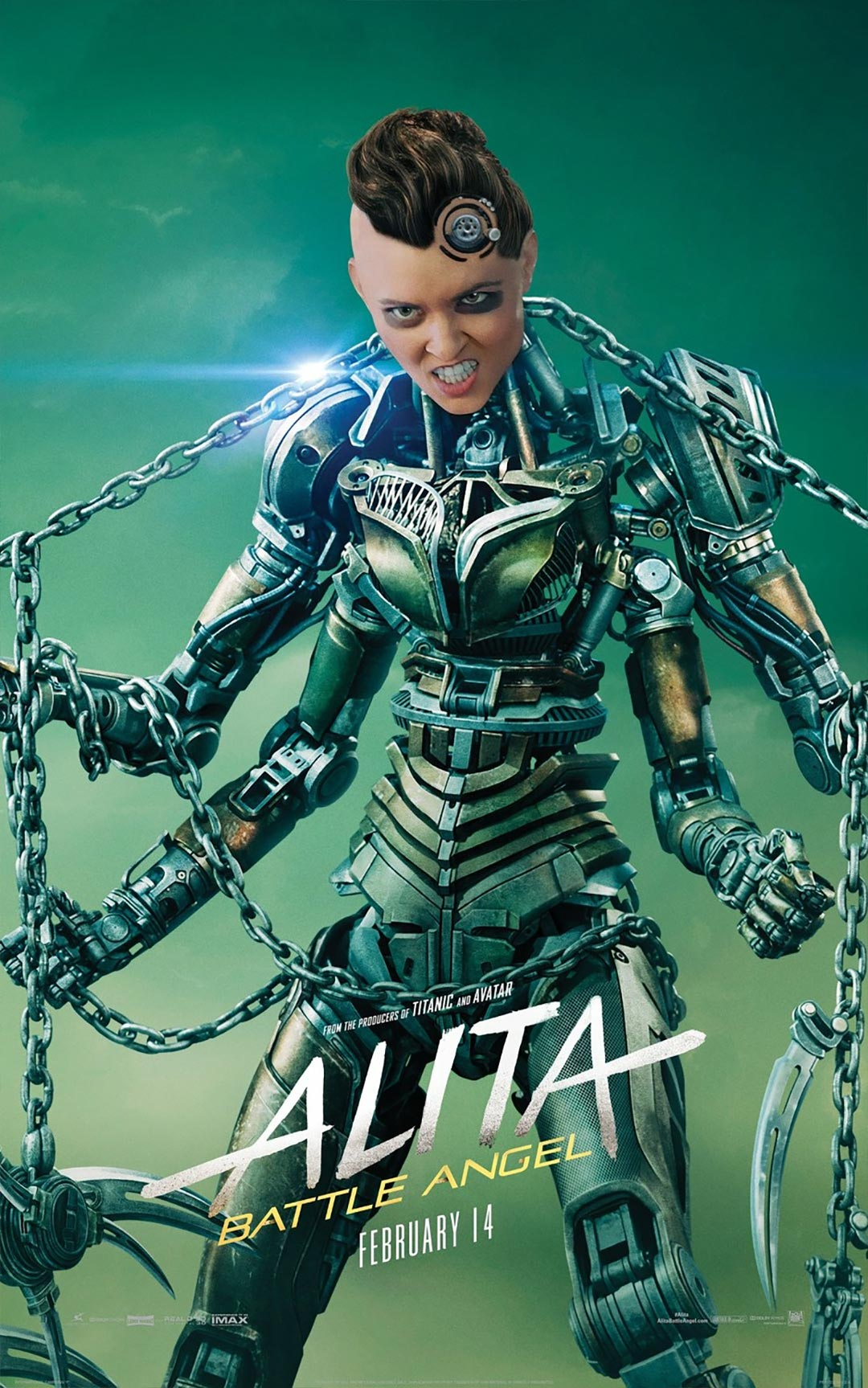 Alita: Battle Angel Poster #5