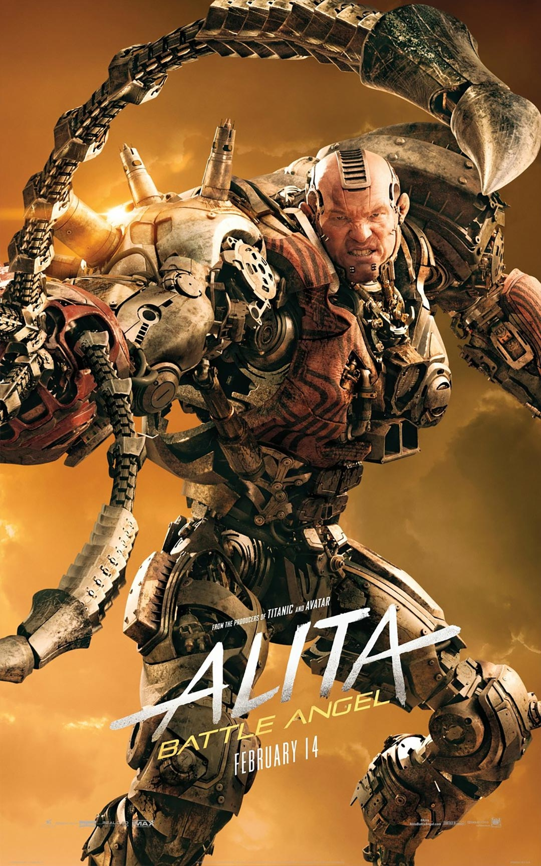 Alita: Battle Angel Poster #6
