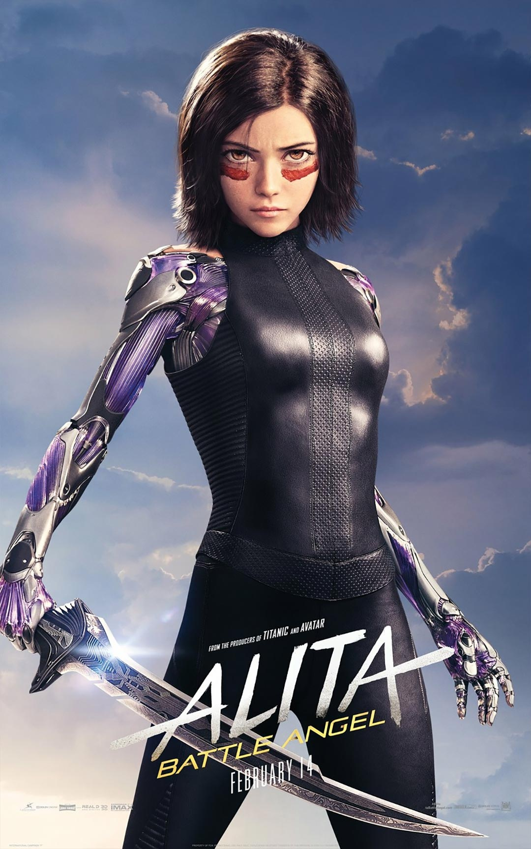 Alita: Battle Angel Poster #8