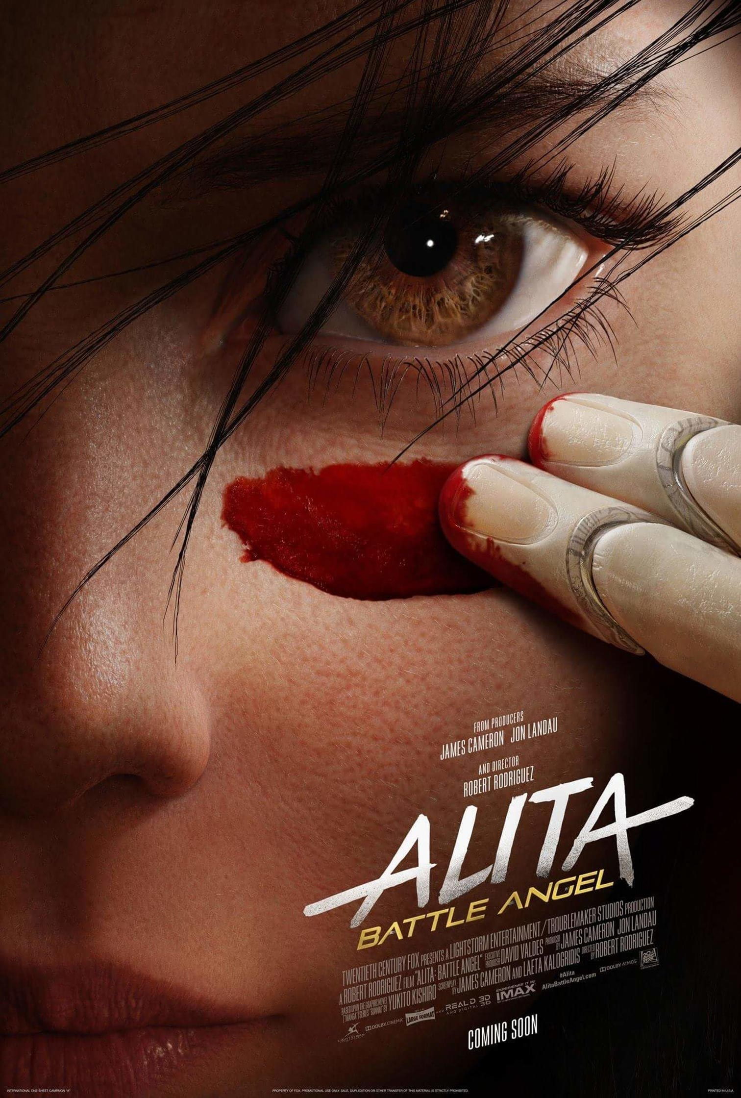 Alita: Battle Angel Poster #1