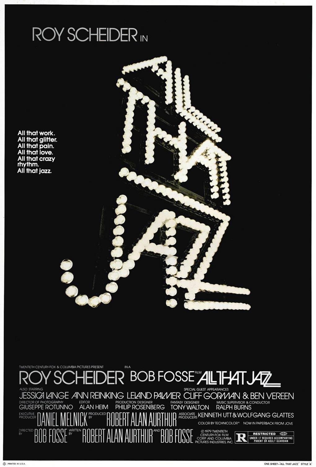All That Jazz Poster #1