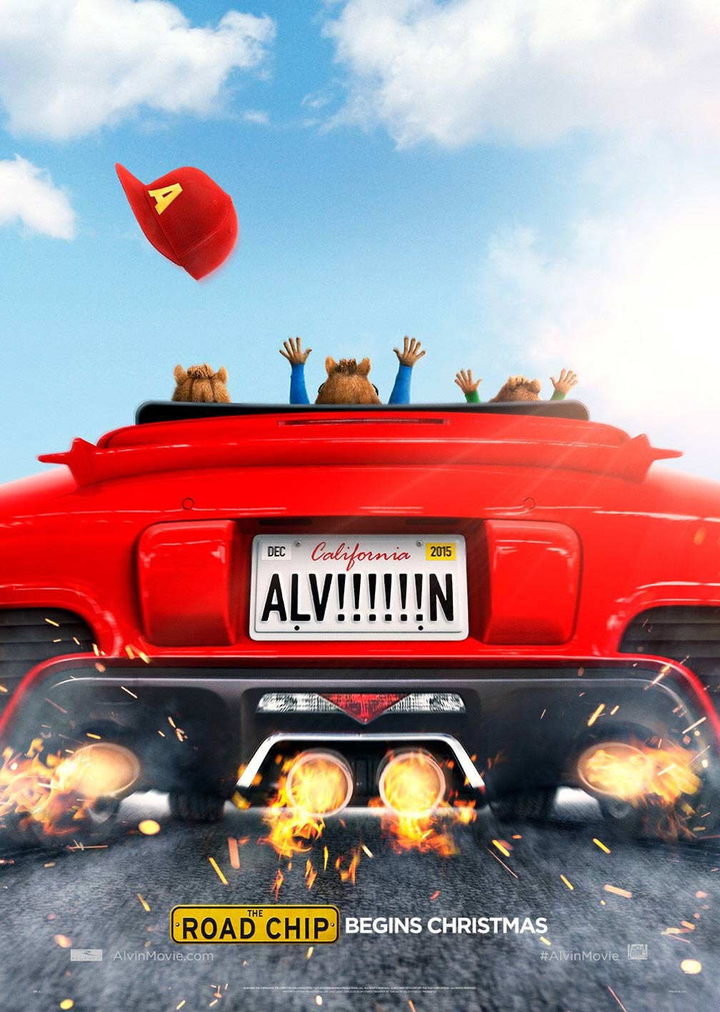 Alvin and the Chipmunks: The Road Chip Poster #1