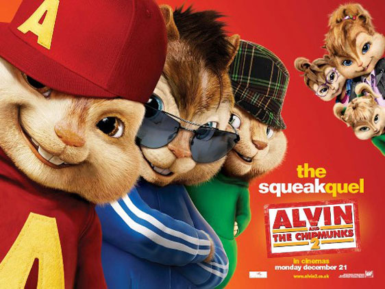 Alvin and the Chipmunks: The Squeakquel Poster #16