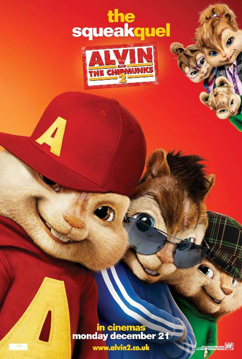 Alvin and the Chipmunks: The Squeakquel Poster #17