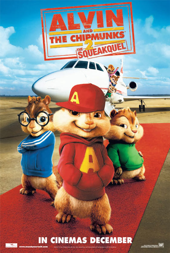 Alvin and the Chipmunks: The Squeakquel Poster #4