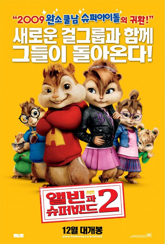 Alvin and the Chipmunks: The Squeakquel Poster #6