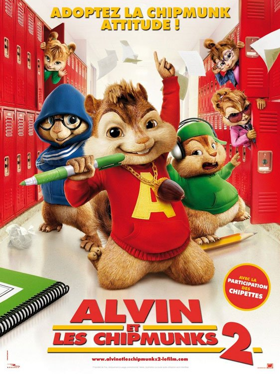 Alvin and the Chipmunks: The Squeakquel Poster #7
