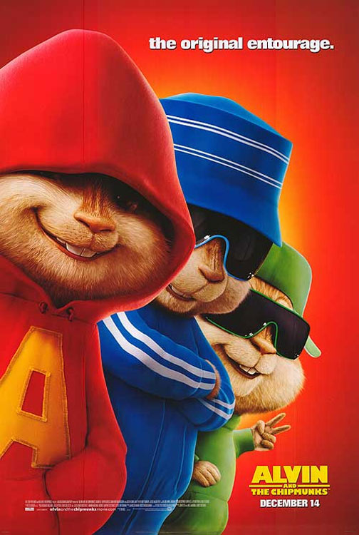 Alvin and the Chipmunks Poster #2