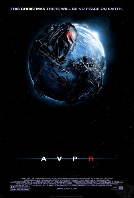 Aliens vs. Predator - Requiem Poster #1