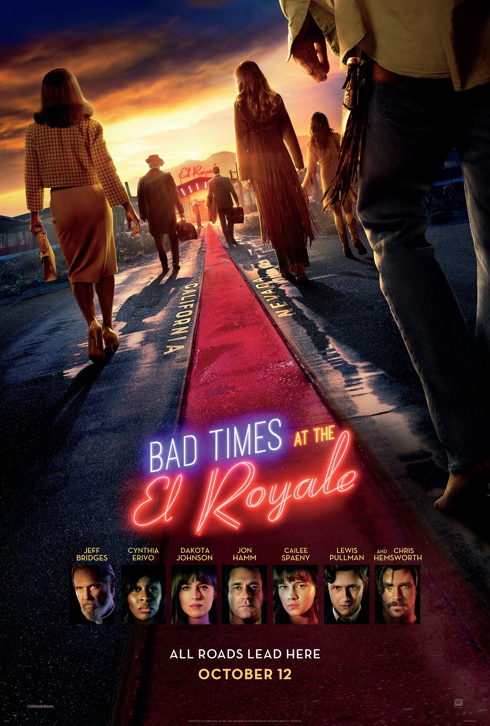 Bad Times at the El Royale Poster #18