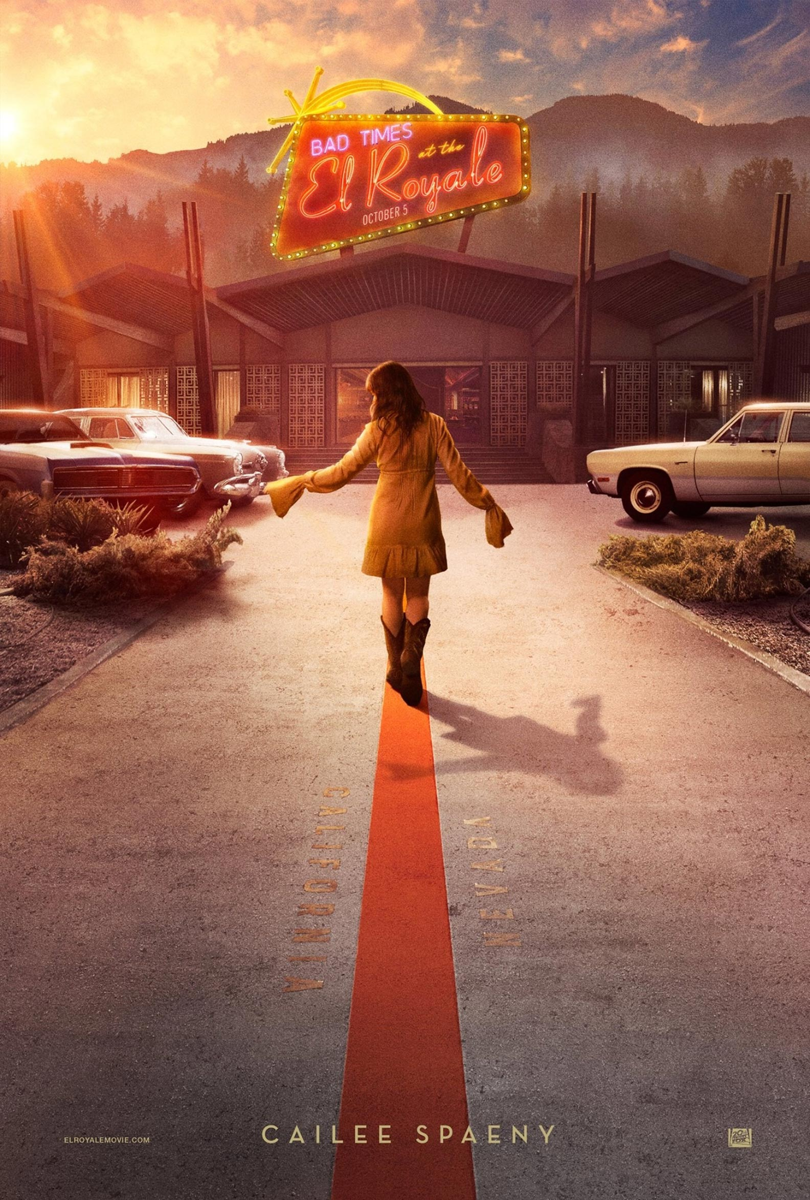 Bad Times at the El Royale Poster #3