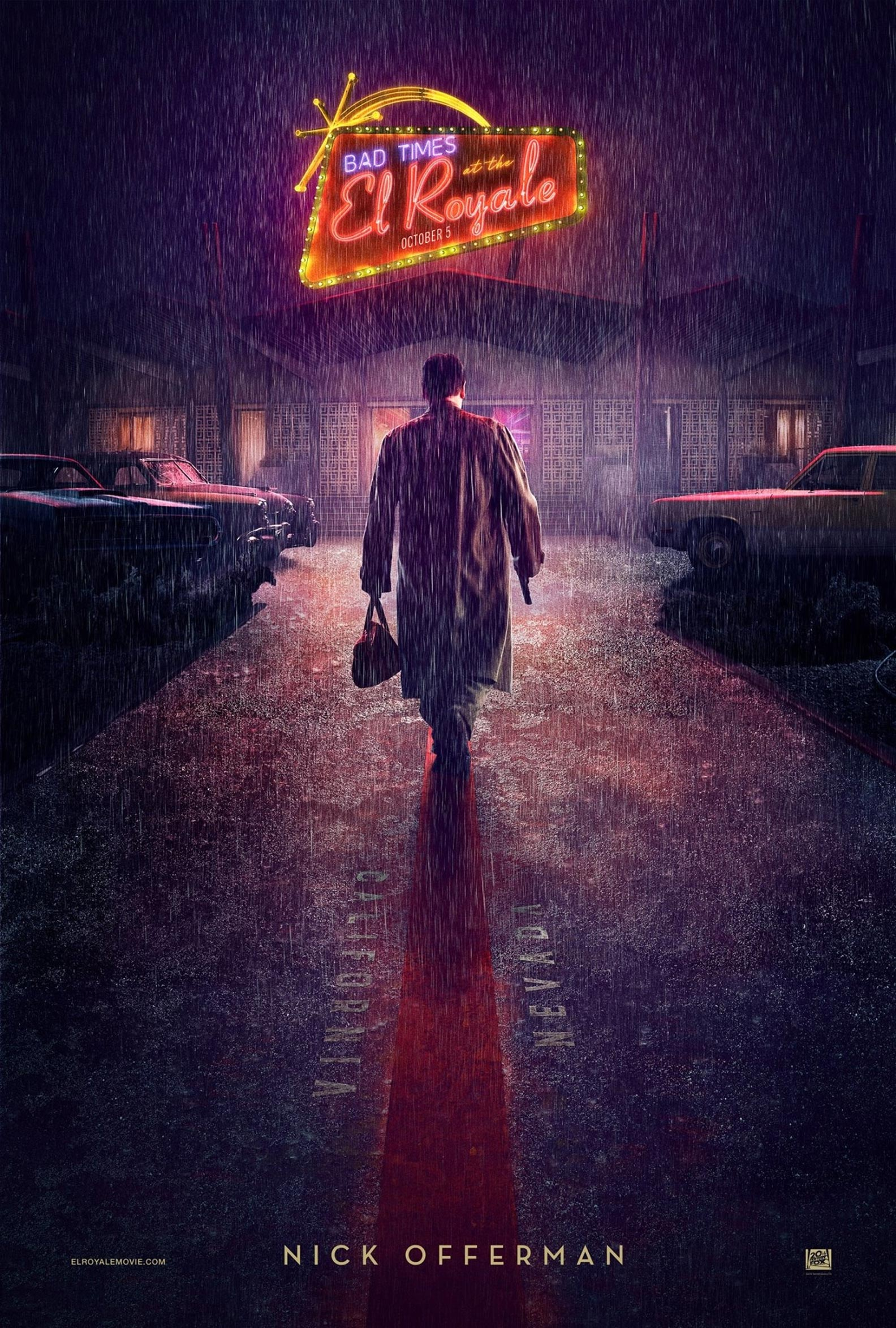 Bad Times at the El Royale Poster #5