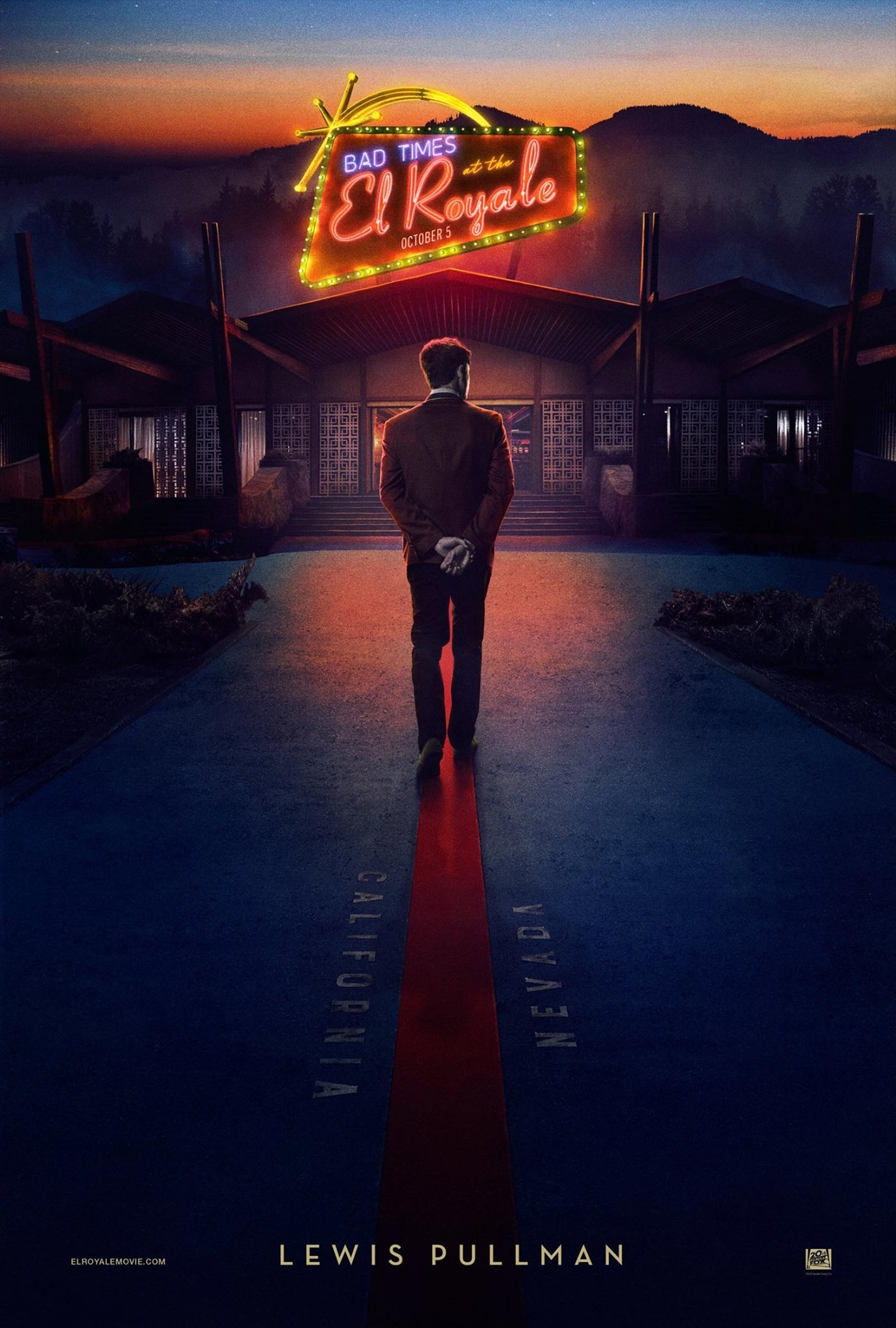 Bad Times at the El Royale Poster #7