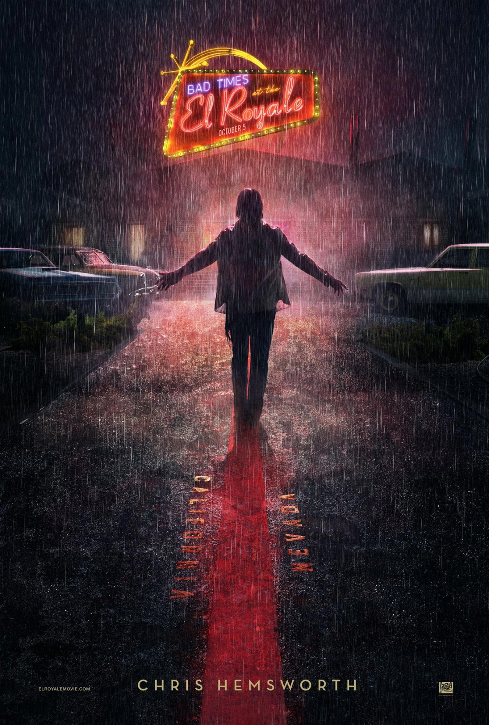 Bad Times at the El Royale Poster #8