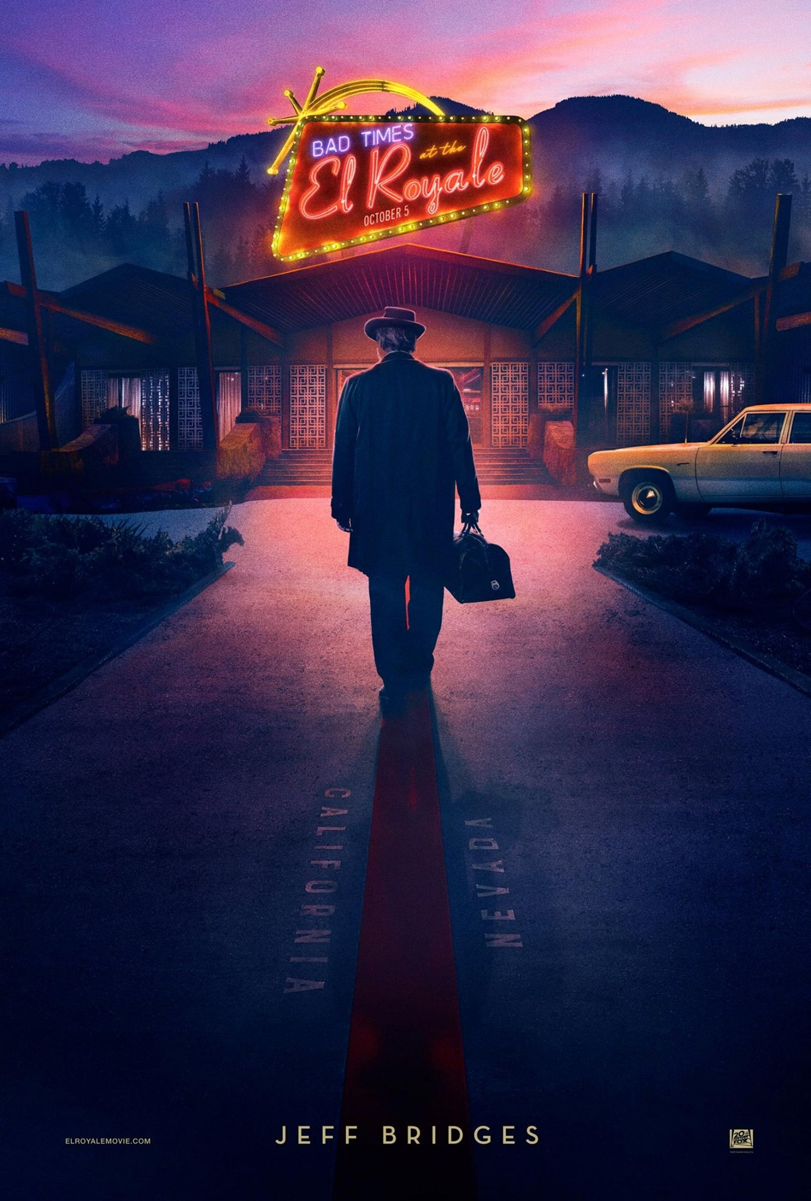 Bad Times at the El Royale Poster #9