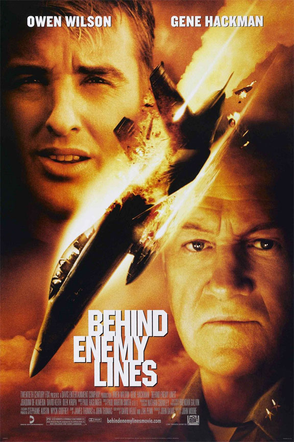 Behind Enemy Lines Poster #2