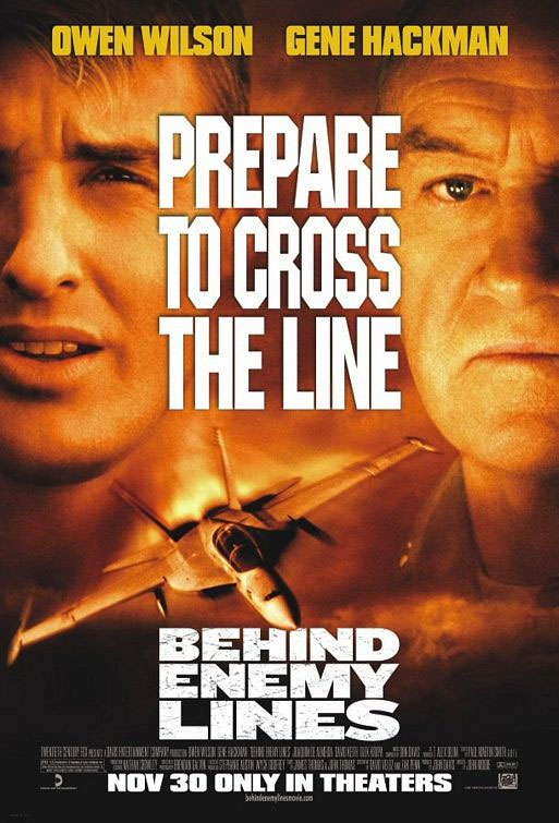 Behind Enemy Lines Poster #3