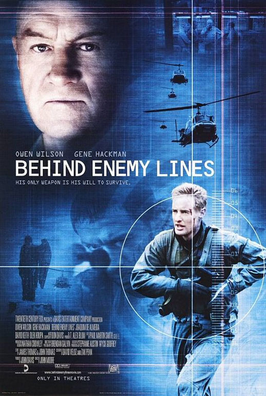 Behind Enemy Lines Poster #1