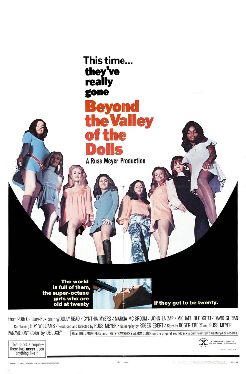 Beyond the Valley of the Dolls Poster #1