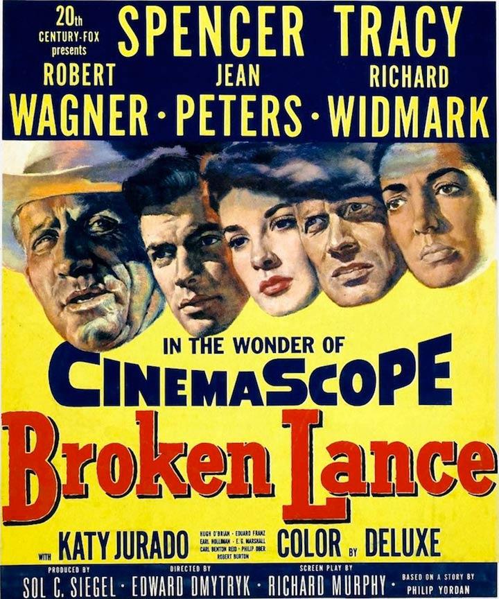 Broken Lance Poster #3