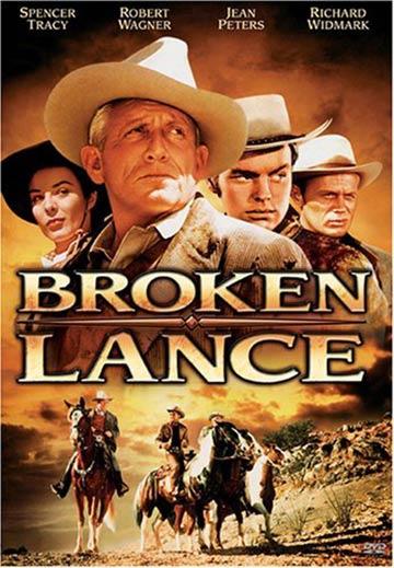 Broken Lance Poster #4