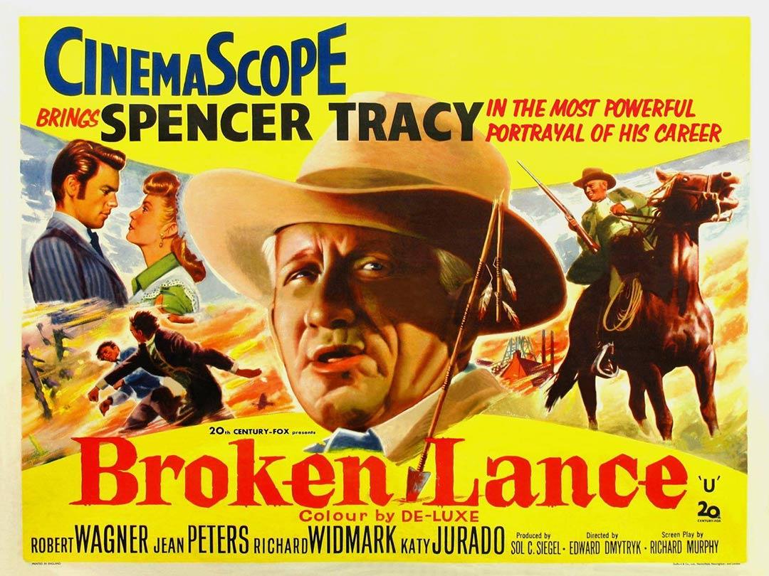 Broken Lance Poster #1