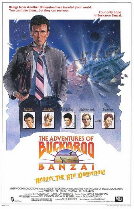The Adventures of Buckaroo Banzai Across the 8th Dimension Poster #1