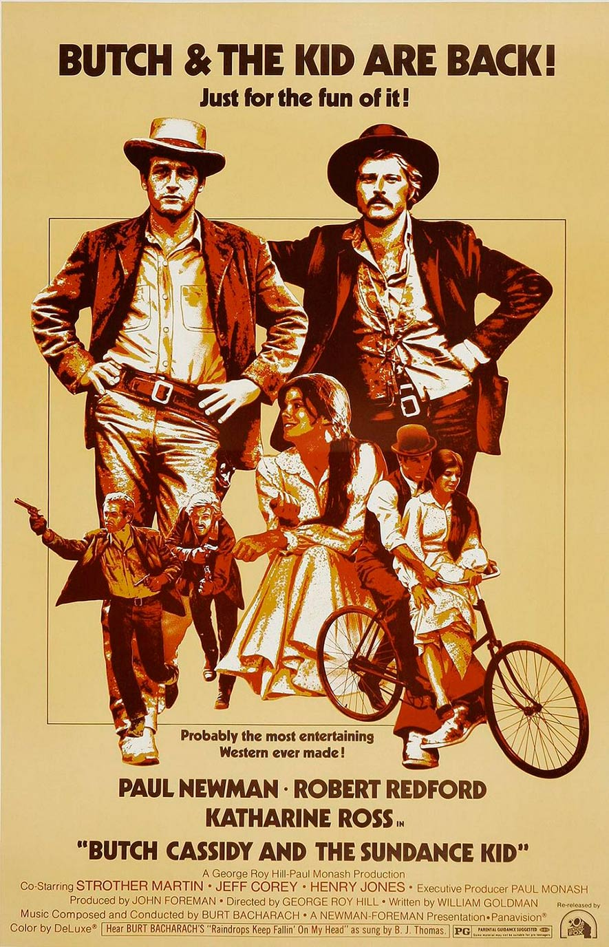 Butch Cassidy and the Sundance Kid Poster #2