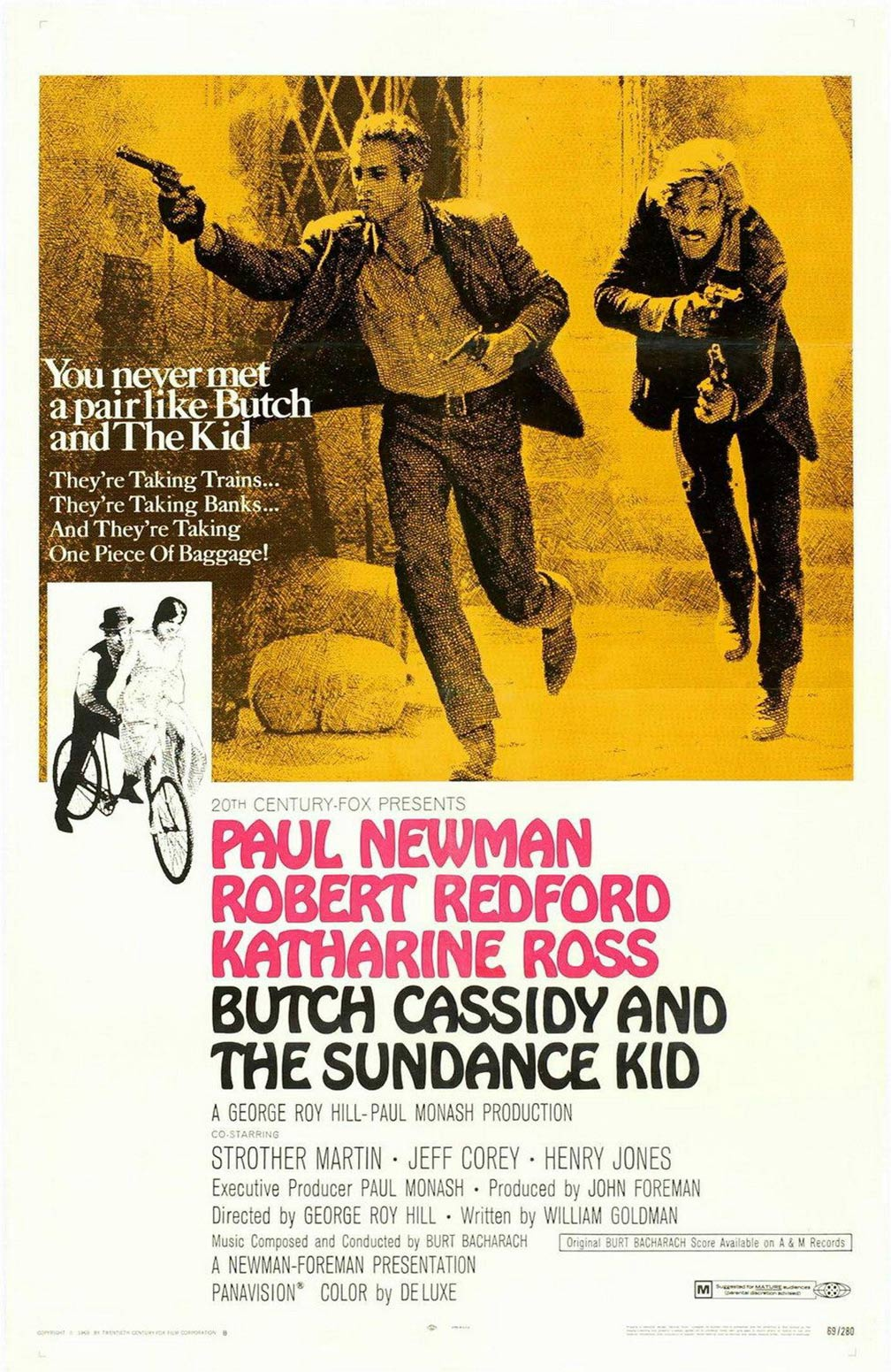 Butch Cassidy and the Sundance Kid Poster #3