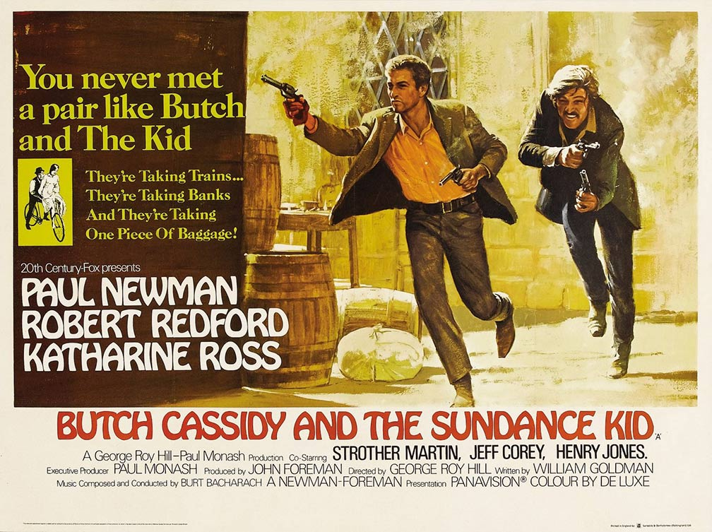 Image result for butch cassidy and the sundance kid poster