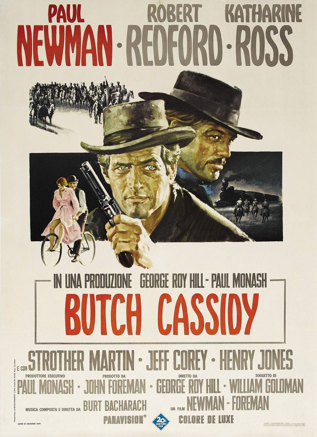 Butch Cassidy and the Sundance Kid Poster #1