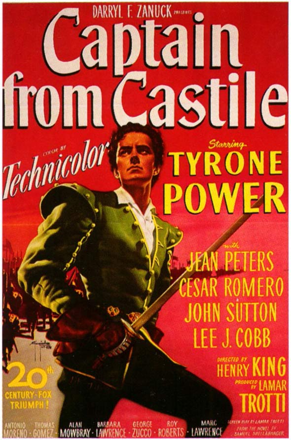 Captain from Castile Poster #1