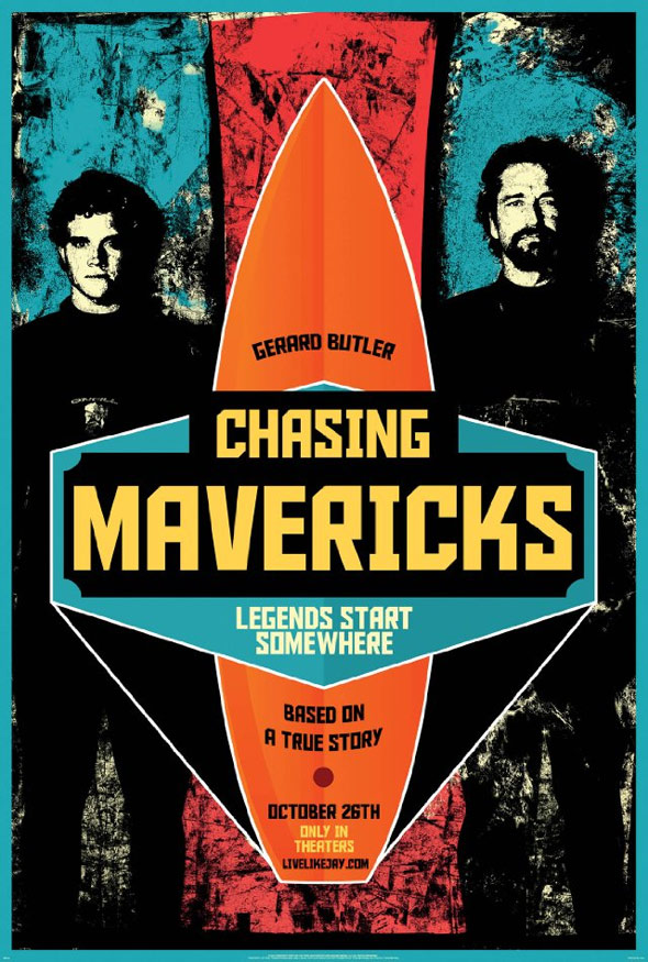 Chasing Mavericks Poster #1