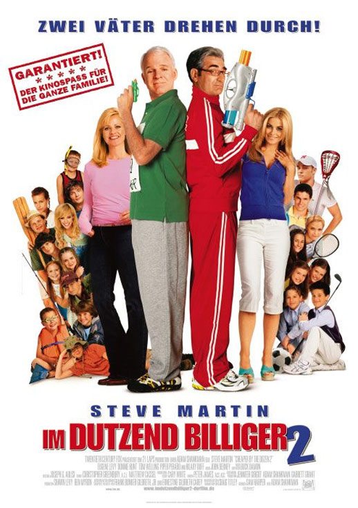 Cheaper by the Dozen 2 (2005) Poster #2 - Trailer Addict
