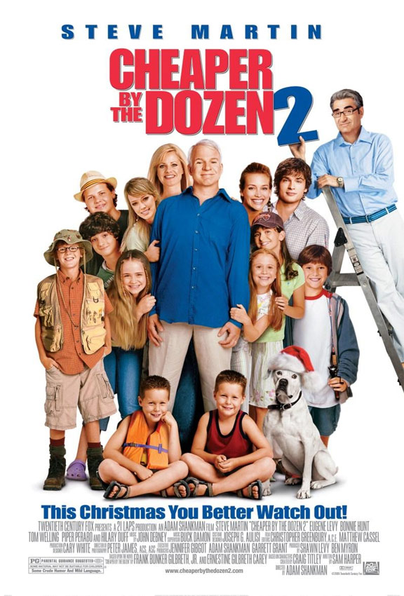Cheaper by the Dozen 2 Poster #1
