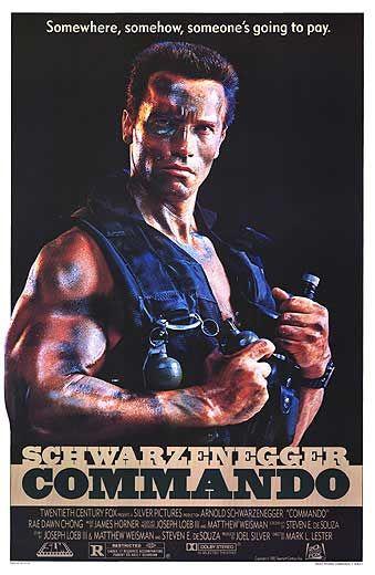 Commando Poster #1