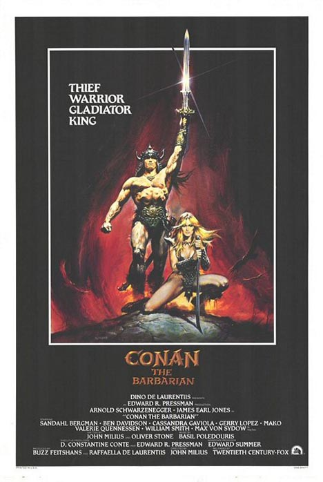Conan the Barbarian Poster #1