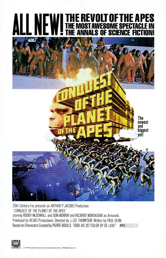 Conquest of the Planet of the Apes Poster #1