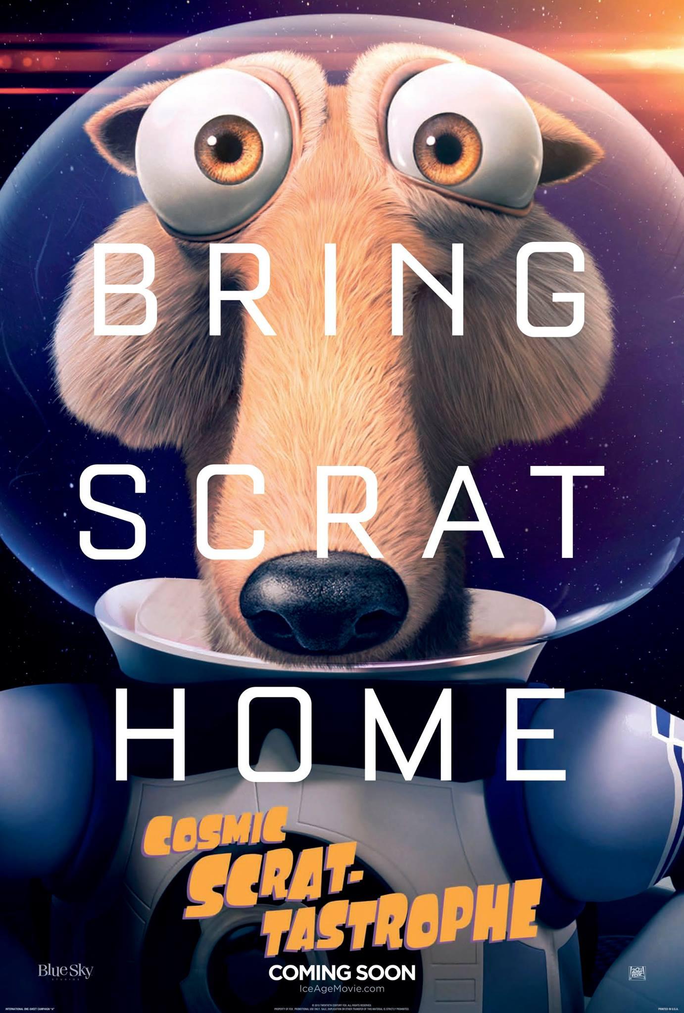 Cosmic Scrat-Tastrophe Poster #1