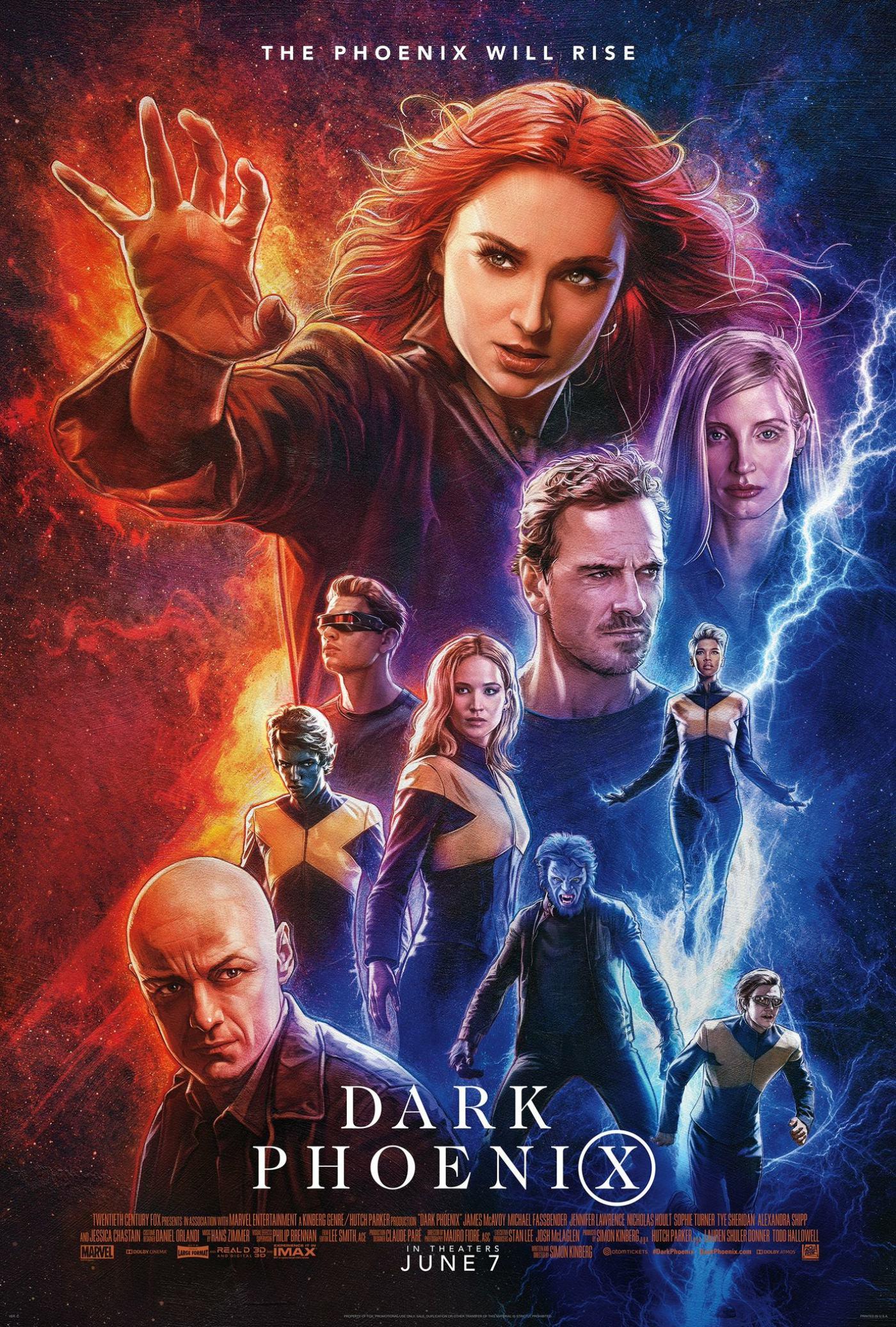 Dark Phoenix Poster #14