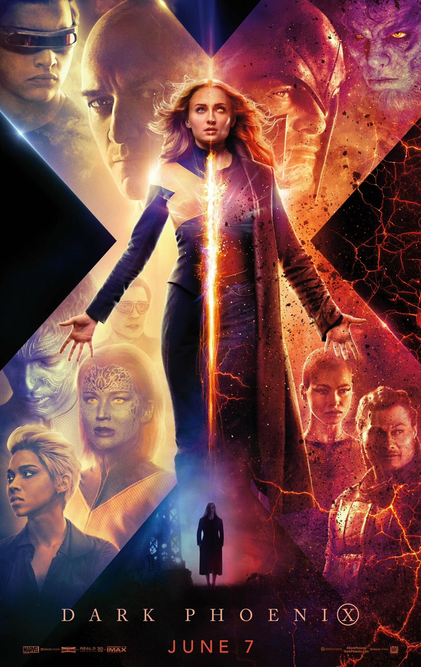 Dark Phoenix Poster #2