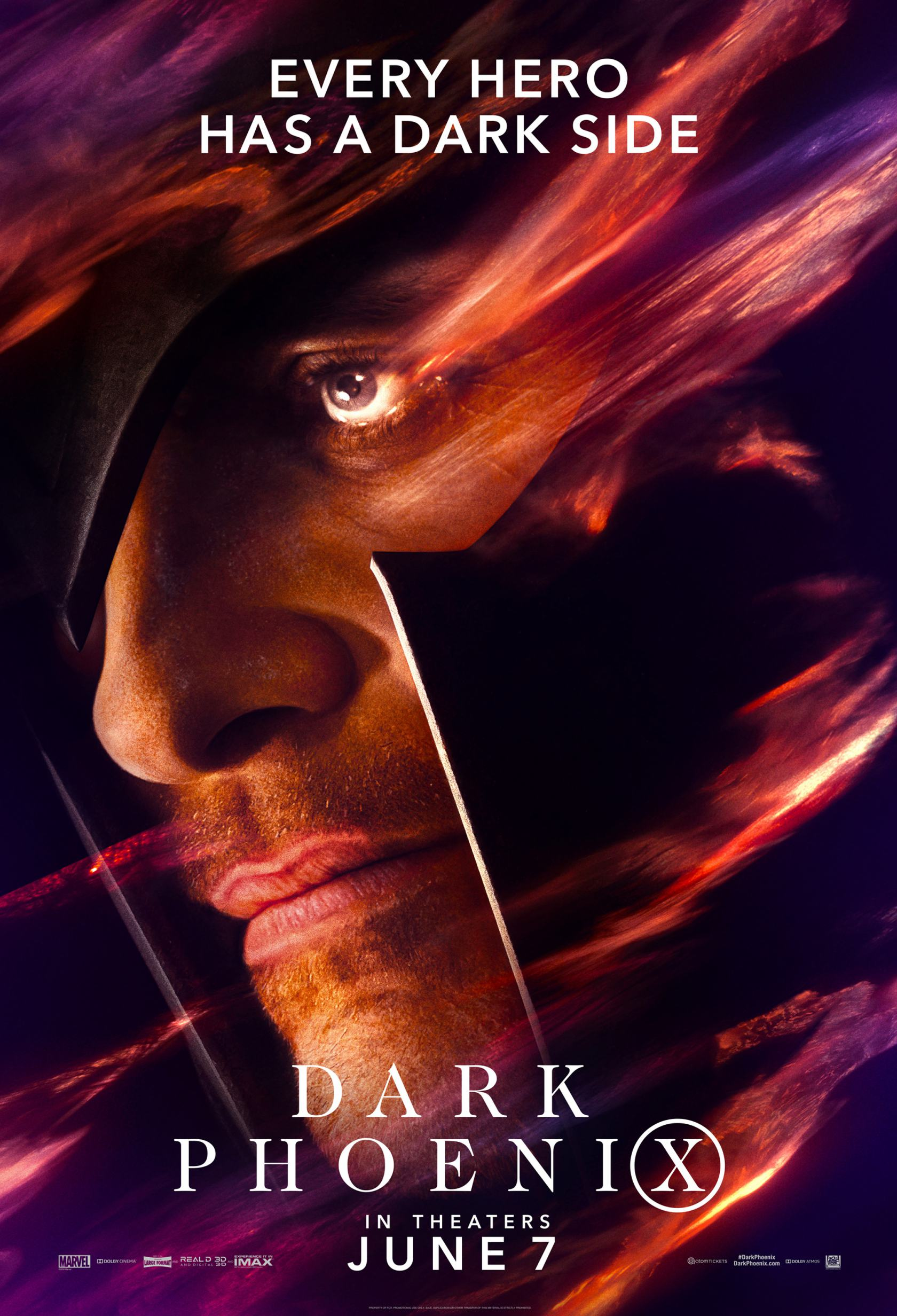 Dark Phoenix Poster #6