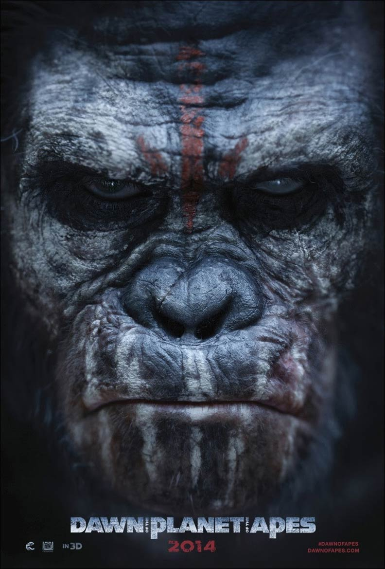 Dawn of the Planet of the Apes Poster #4