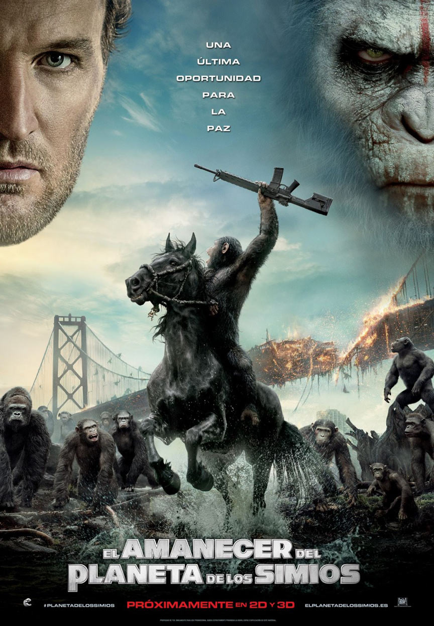 Dawn of the Planet of the Apes Poster #7