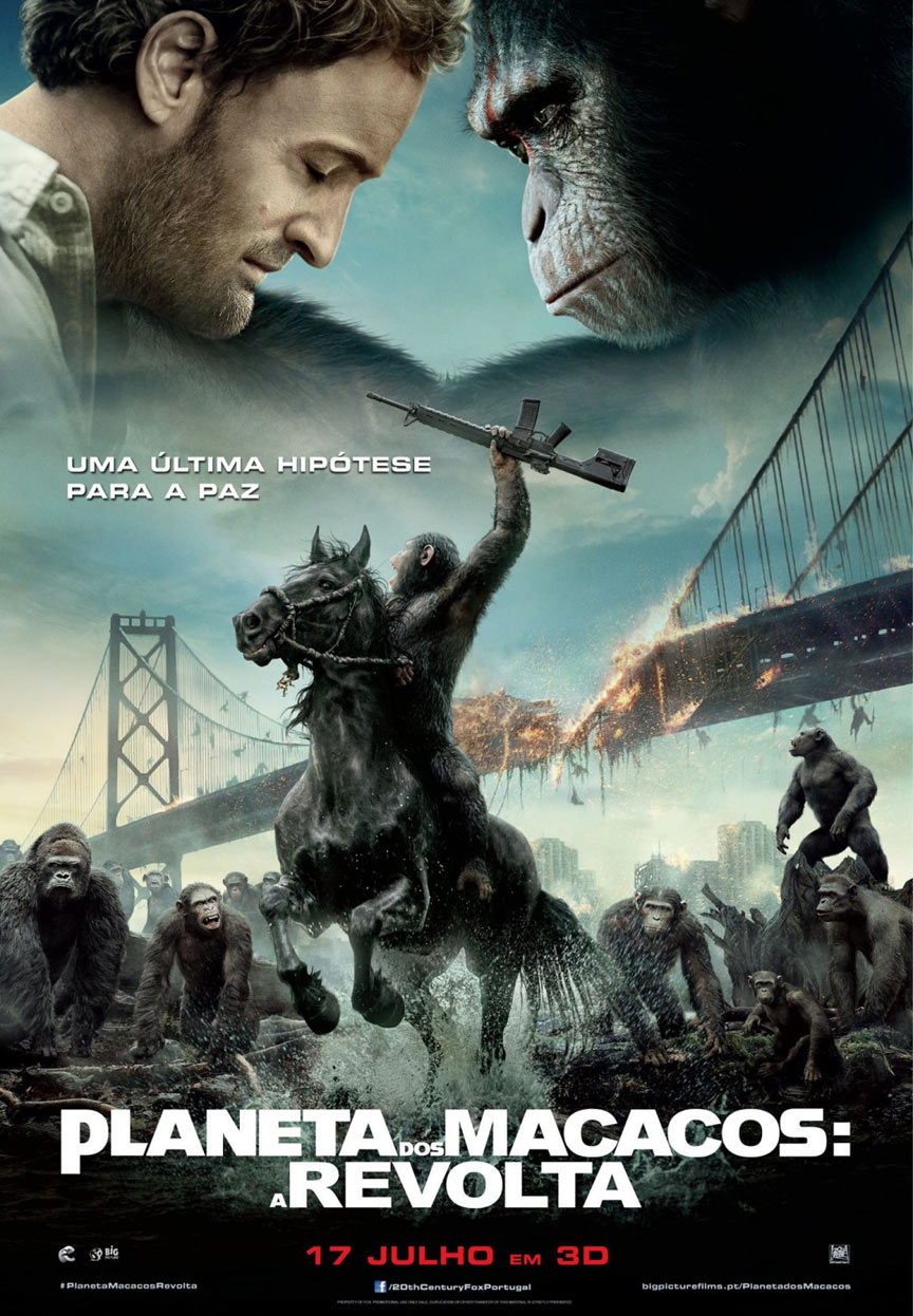 Dawn of the Planet of the Apes Poster #8