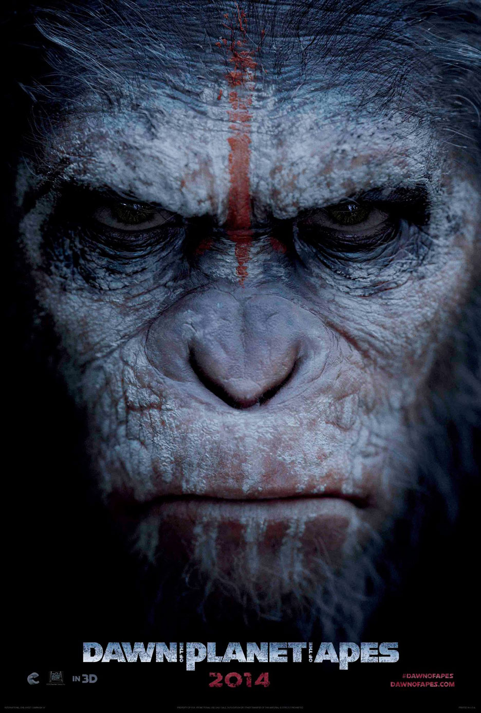 Dawn of the Planet of the Apes Poster #1