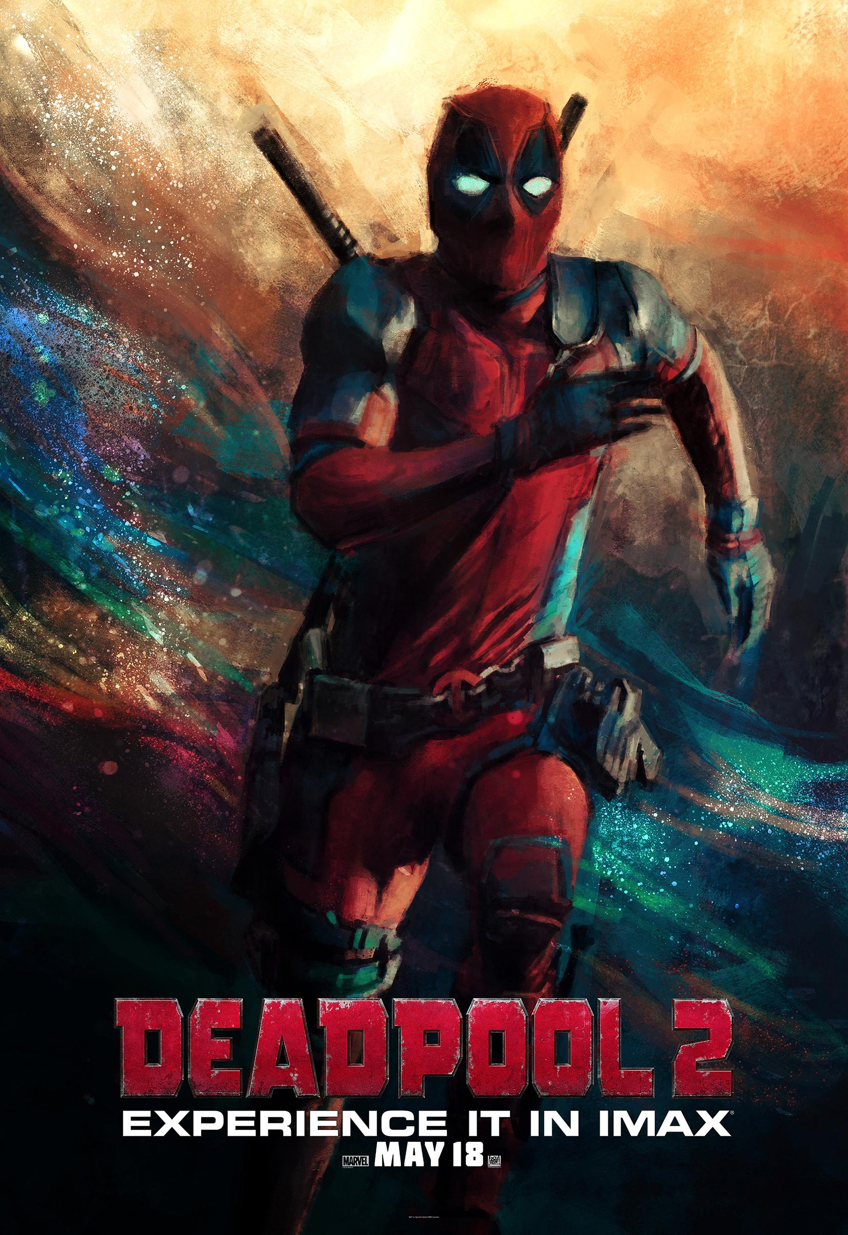 deadpool 2 2018 poster 8 trailer addict