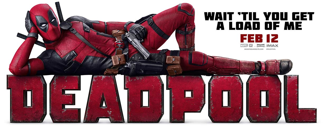 Movies 2016 Posters: Deadpool (2016) Poster #1