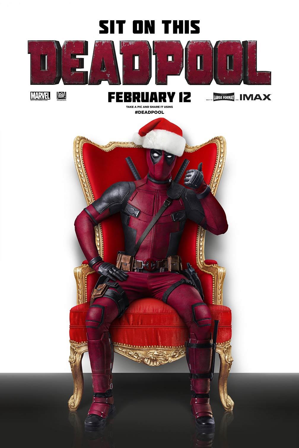 Deadpool (2016) Poster #1 - Trailer Addict