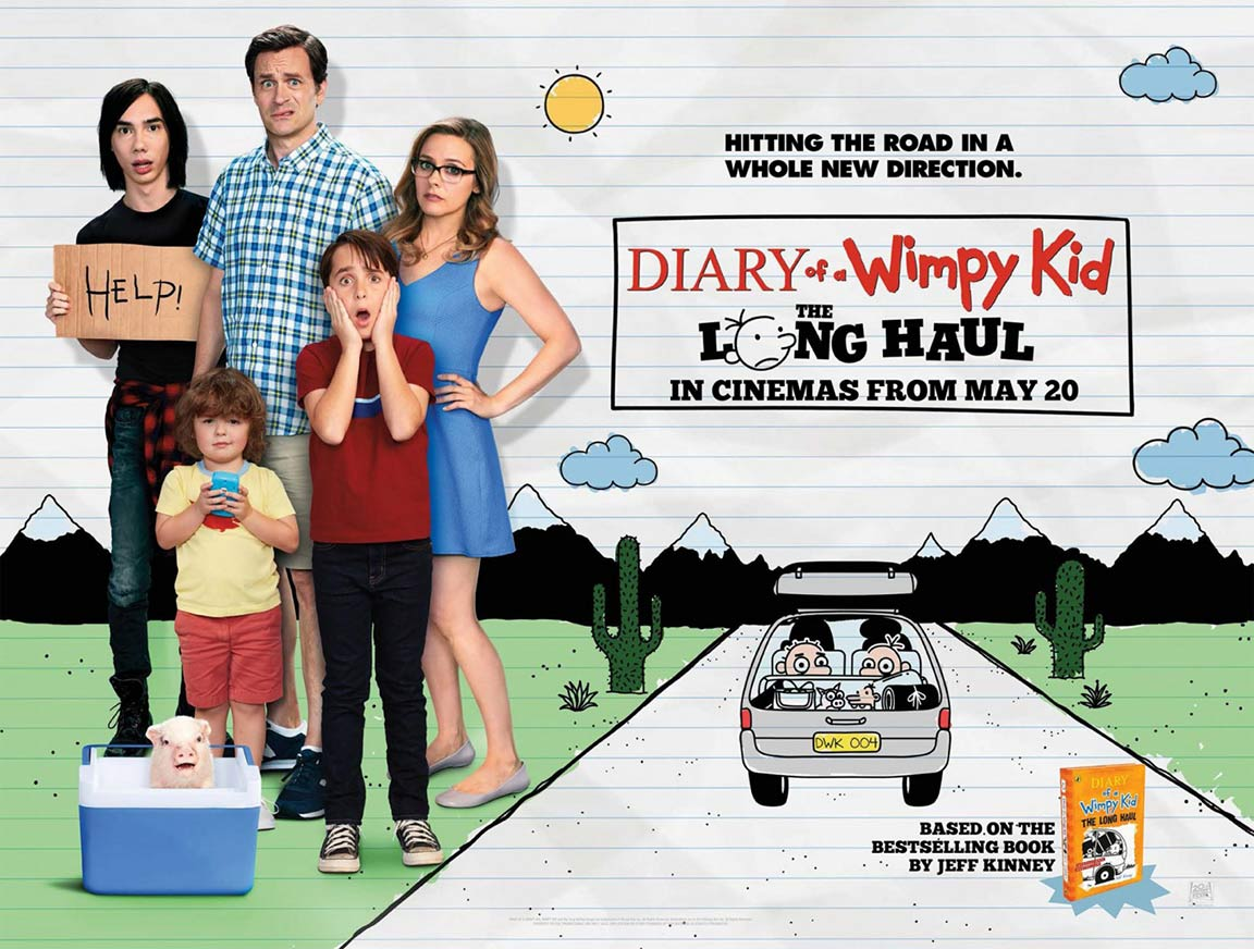 Diary of a Wimpy Kid: The Long Haul Poster #2